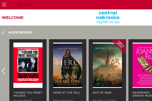 Using RBdigital to get digital magazines, ebooks and audiobooks