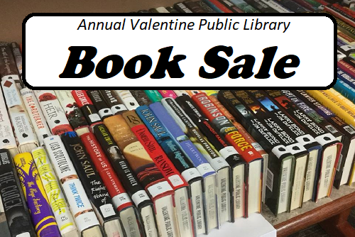 Browse the book sale tables