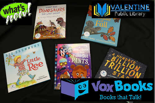 What are VOX™ Books?