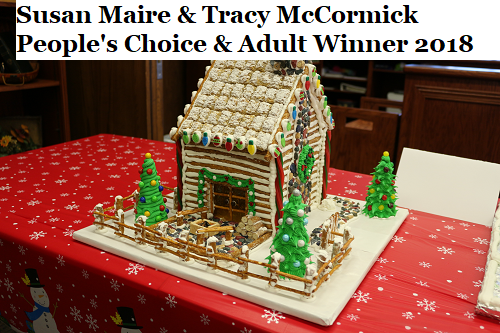 Gingerbread House Contest Winners Announced