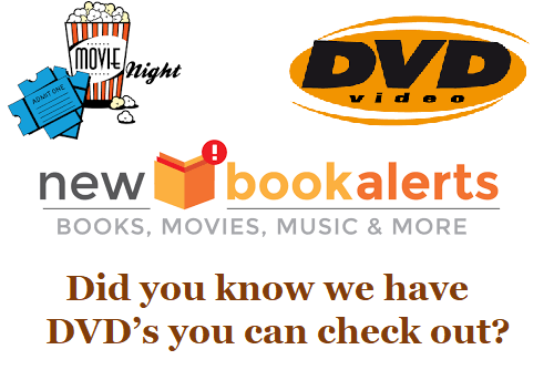 Did you know about our DVD's???
