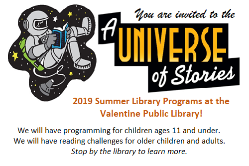 Join us June 26th for a Summer Reading Program