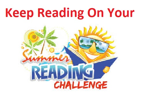 Keep working on your Reading Challenges!