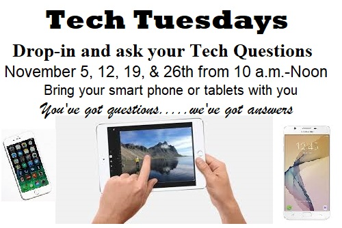 Join us on Tech Tuesdays to learn more