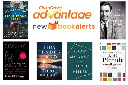 Love new books? Just added on Overdrive Advantage on December 11, 2019