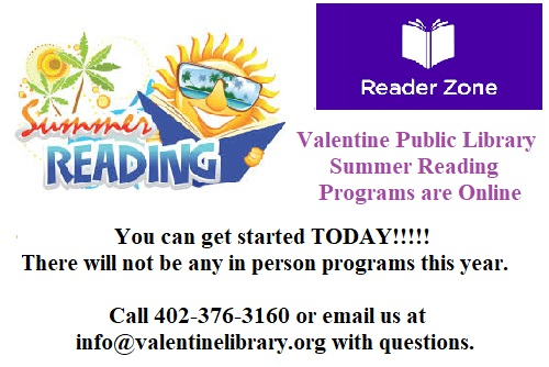 Join our online Summer Reading Programs