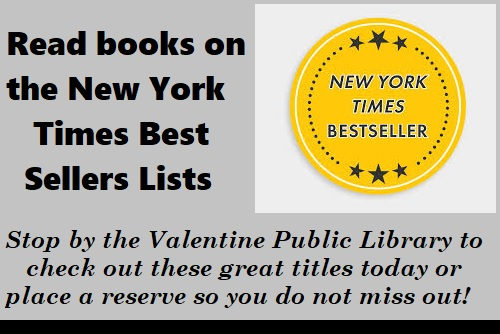 NY Times Best Sellers available at VPL