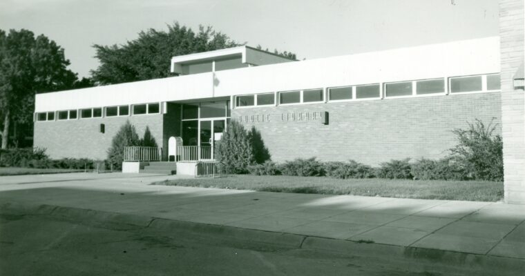 Valentine Public Library current location built in 1968