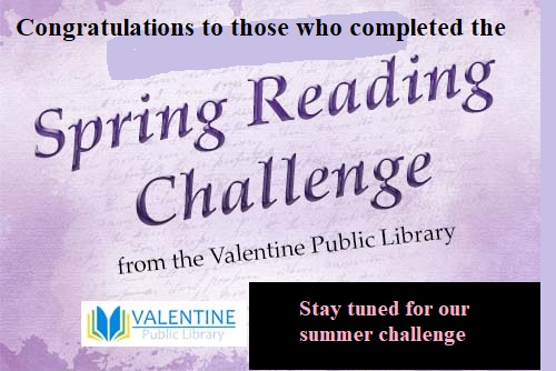 Spring Reading Challenge is complete