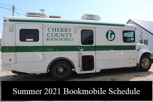 Bookmobile Summer 2021 Schedule
